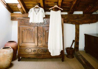 Préparation mariage - Au milieu des fougères